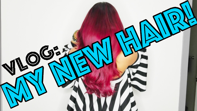 New Hair Vlog Cover